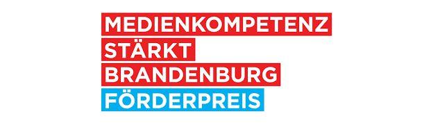 Logo Medienkompetenz stärkt Brandenburg Förderpreis